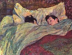 bed painting, sleeping painting, flickr freeparking