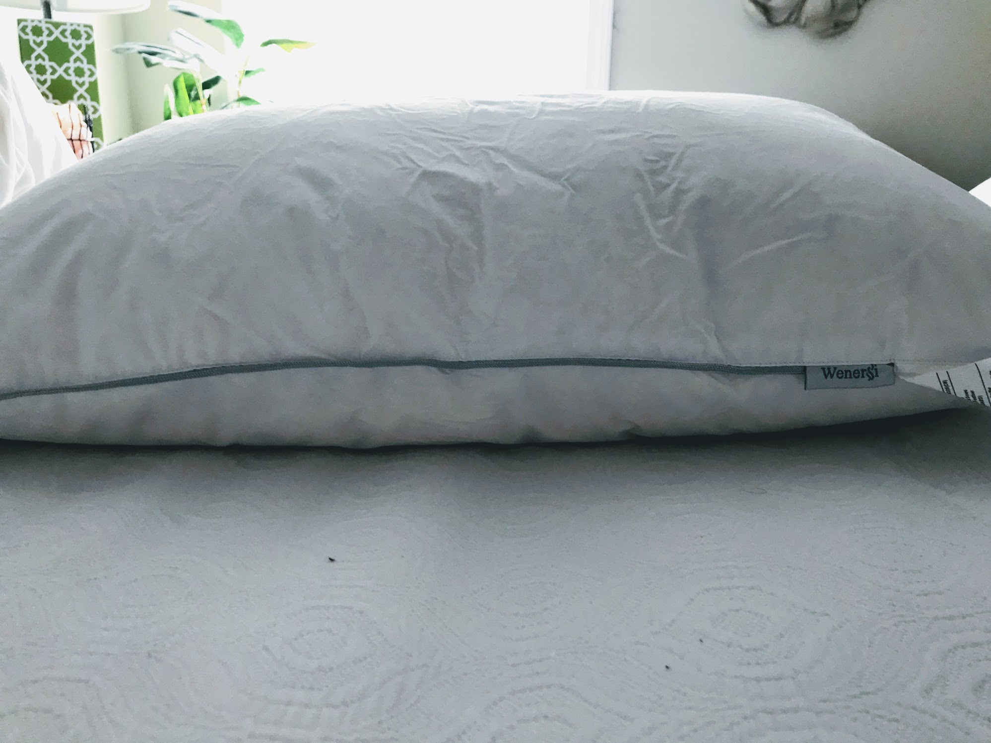down feather pillow