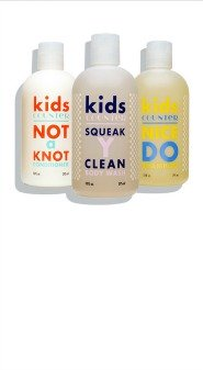 natural bath products for kids